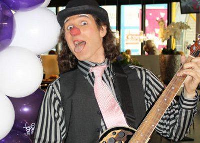 Clown Bennie Bang boekt u bij clown.nl te Nieuwegein